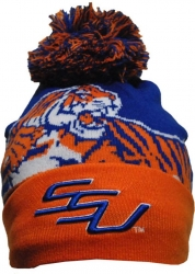 View Buying Options For The Savannah State Tigers S8 Beanie