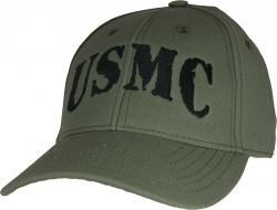 View Buying Options For The USMC Rubber Stamp USA Made Mens Cap