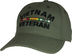 View Buying Options For The Vietnam Veteran with Ribbons Rubber Stamp USA Made Mens Cap