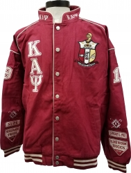 View Buying Options For The Buffalo Dallas Kappa Alpha Psi Mens Racing Twill Jacket