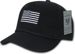 View Buying Options For The RapDom USA Flag 5 Panel Golf Mens Cap