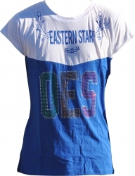View Buying Options For The Eastern Star Divine S2 Ladies Rhinestone Tee