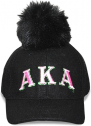 View Buying Options For The Alpha Kappa Alpha Divine 9 S8 Ladies Pom Pom Cap
