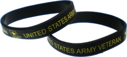 View Buying Options For The United States Army Veteran Silicone Wristband [Pre-Pack]