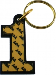 View Buying Options For The Alpha Phi Alpha Color Mirror Line #1 Keychain