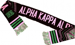 View Buying Options For The Alpha Kappa Alpha Divine 9 S4 Ladies Scarf