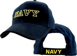 View Buying Options For The Navy Lettering Mens Cap