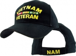 View Buying Options For The Vietnam Veteran w/Ribbons Mens Cap