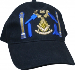 View Buying Options For The Past Master Mason Working Tools 3D Mens Cap