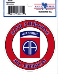 View Buying Options For The 82nd Airborne Division All American Outside Car Decal Sticker [Pre-Pack]