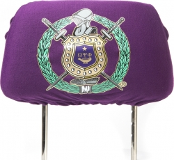 View Buying Options For The Omega Psi Phi Car Seat Headrest Cover