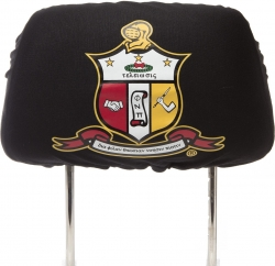 View Buying Options For The Kappa Alpha Psi Car Seat Headrest Cover
