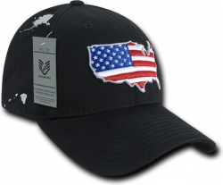 View Buying Options For The RapDom The Globe American Flag Mens Cap