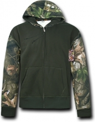 View Buying Options For The RapDom HYBRiCAM 2 Tone Zip-Up Mens Hoodie Jacket