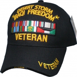 View Buying Options For The Desert Storm Iraqi Freedom Veteran Sandwich Bill Mens Cap