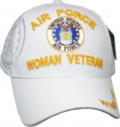View Buying Options For The Air Force Woman Veteran Shadow Ladies Cap