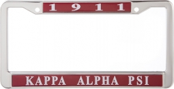 View Buying Options For The Kappa Alpha Psi 1911 Metal License Frame