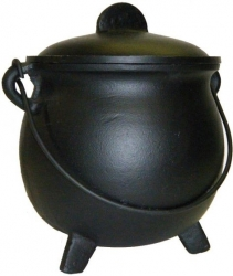 View Buying Options For The Plain Big Lid Top Cast Iron Cauldron