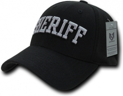 View Buying Options For The RapDom Sheriff Text FitAll Flex Mens Baseball Cap