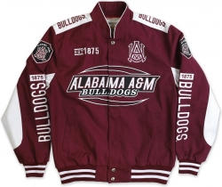 View Buying Options For The Alabama A&M Bulldogs S10 Mens Twill Jacket