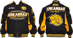 View Buying Options For The Arkansas at Pine Bluff Golden Lions S10 Mens Twill Jacket