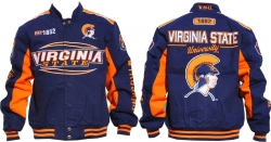 View Buying Options For The Virginia State Trojans S10 Mens Twill Jacket