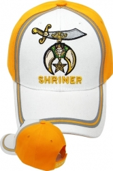 View Buying Options For The Shriner 2-Tone Line Design Mens Cap