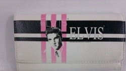 View Buying Options For The Elvis Presley Stripes Ladies Wallet
