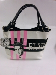 View Buying Options For The Elvis Presley Stripes Ladies Purse