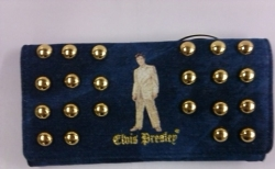 View Buying Options For The Elvis Presley Gold Lame Ladies Wallet