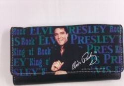 View Buying Options For The Elvis Presley Blue Shirt Ladies Wallet