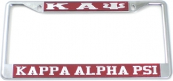View Buying Options For The Kappa Alpha Psi Classic License Plate Frame