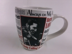 View Buying Options For The Elvis Presley Song Title Latte Mug