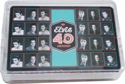 View Buying Options For The Elvis Presley 40th Anniversary Playing Cards