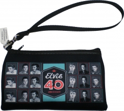 View Buying Options For The Elvis Presley 40th Anniversary Wristlet Ladies Purse