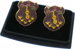 View Buying Options For The Iota Phi Theta Shield Mens Cuff Links
