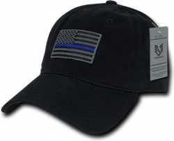View Buying Options For The RapDom Thin Blue Line Graphic Relaxed Mens Cap