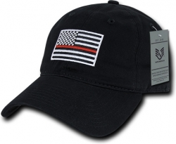 View Buying Options For The RapDom Thin Red Line Graphic Relaxed Mens Cap