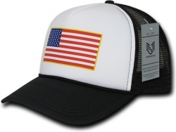 View Buying Options For The RapDom USA Flag Graphic Foam Trucker Mens Cap