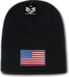 View Buying Options For The RapDom Original USA Flag Mens Cuffless Beanie