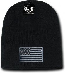 View Buying Options For The RapDom Tonal USA Flag Mens Cuffless Beanie