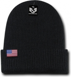 View Buying Options For The RapDom Original USA Flag Label Mens Cuff Beanie