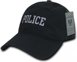 View Buying Options For The RapDom Police Text Law Enf. Relaxed Ripstop Mens Cap