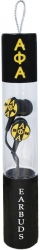 View Buying Options For The Alpha Phi Alpha Greek Beats Performance Ear Buds with Microphone