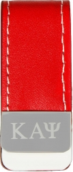 View Buying Options For The Kappa Alpha Psi Mens Laser Engraved Money Clip with Leather
