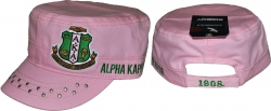 View Buying Options For The Alpha Kappa Alpha Divine 9 S5 Ladies Captains Cap