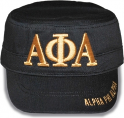 View Buying Options For The Alpha Phi Alpha Divine 9 S5 Mens Captains Cap