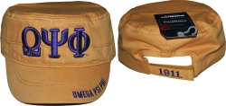 View Buying Options For The Big Boy Omega Psi Phi Divine 9 S5 Mens Captains Cap