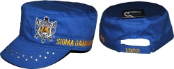View Buying Options For The Sigma Gamma Rho Divine 9 S5 Ladies Captains Cap