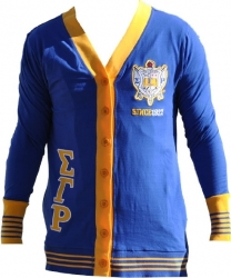 View Buying Options For The Sigma Gamma Rho Divine 9 S6 Light Weight Ladies Cardigan